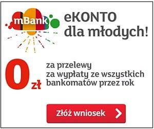 mbank konta młodzieżowe